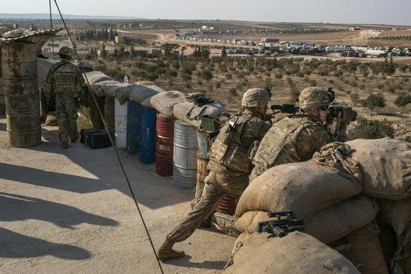 अमेरिकाले सिरियाबाट सैन्य उपकरणहरु फिर्ता लैजाने