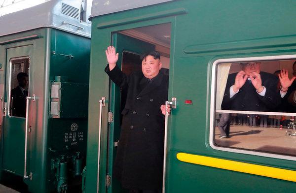 पुटिन भेट्न चीन हुँदै आफ्नै हरियो रेलमा रुस जाँदै उत्तर कोरियाली नेता किम