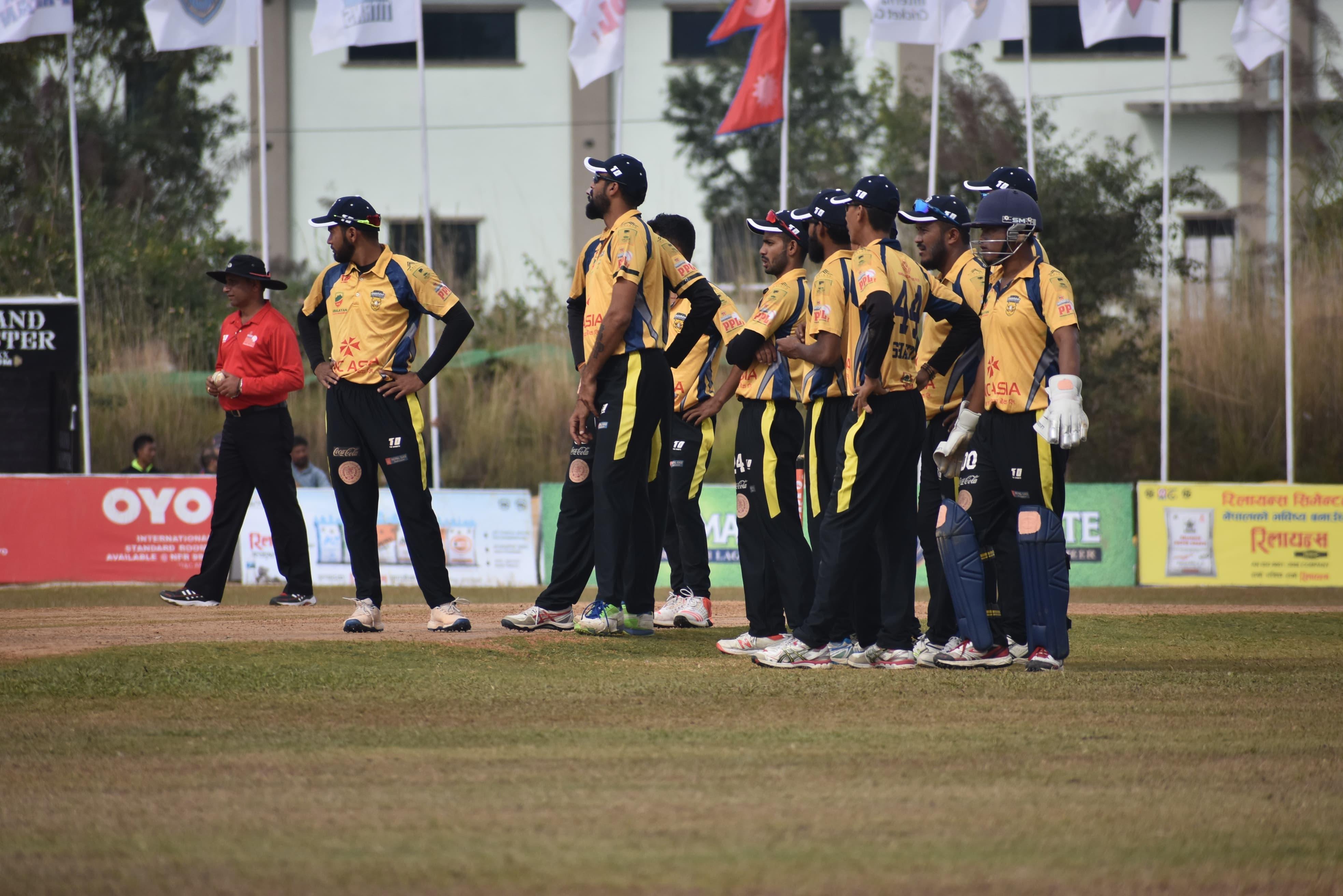 पीपीएल : घरेलु टोली पोखरा फाइनलमा, चितवन र काठमाडौँ एलिमिनेटरमा भिड्ने