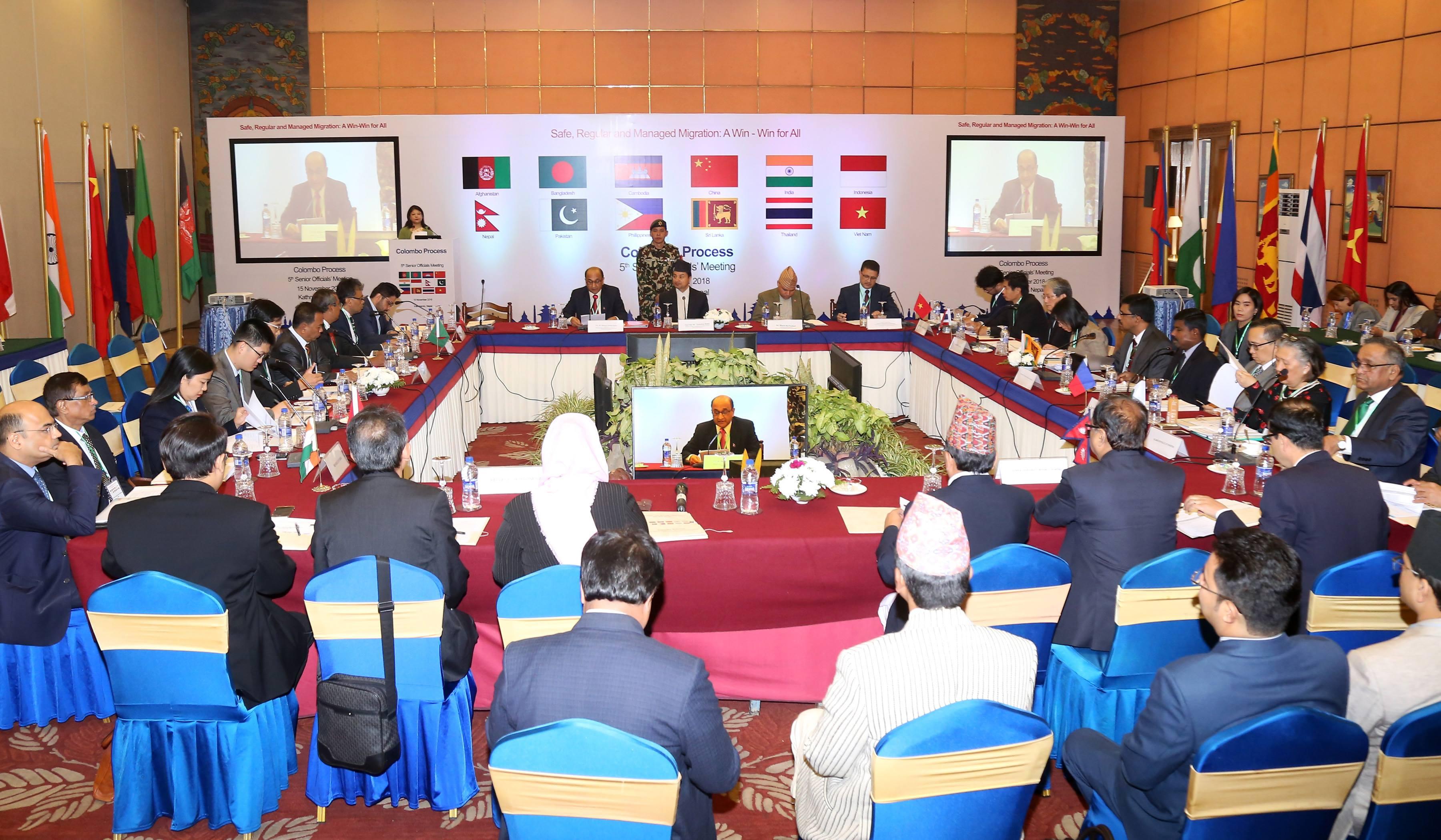 विदेशमा धेरै कामदार पठाउने देशहरुको बैठक सोल्टीमा सुरु, नेपाल अध्यक्ष