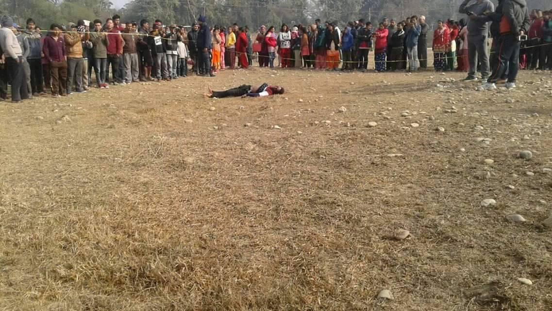 प्रहरीमा भर्ना हुन् कोहलपुर पुगेका २२ वर्षीय युवकको घाँटी रेटी हत्या