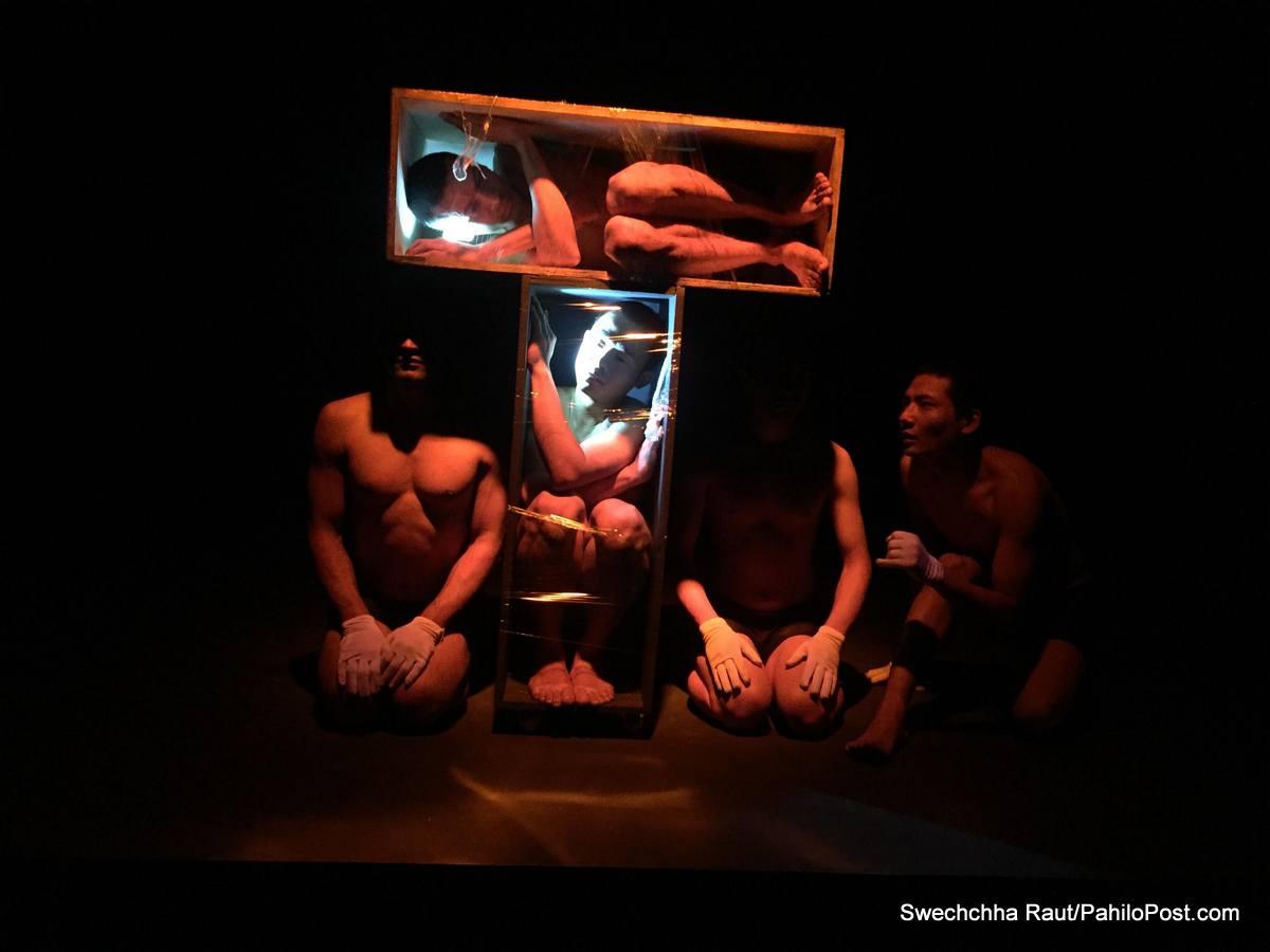 मौनताको चर्को आवाज : शारीरिक भाषामा सुदामको थिएटर एक्स्पेरिमेन्ट
