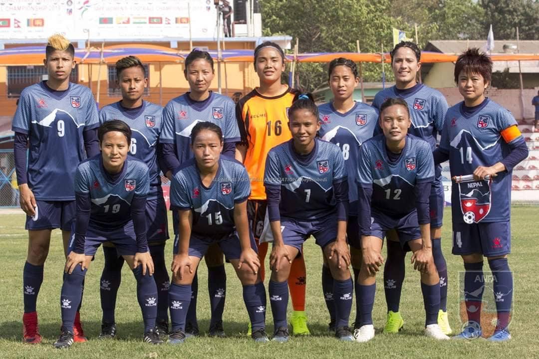 साफ महिला च्याम्पियनसिप : श्रीलंकालाई पराजित गर्दै नेपाल चौथो पटक फाइनलमा