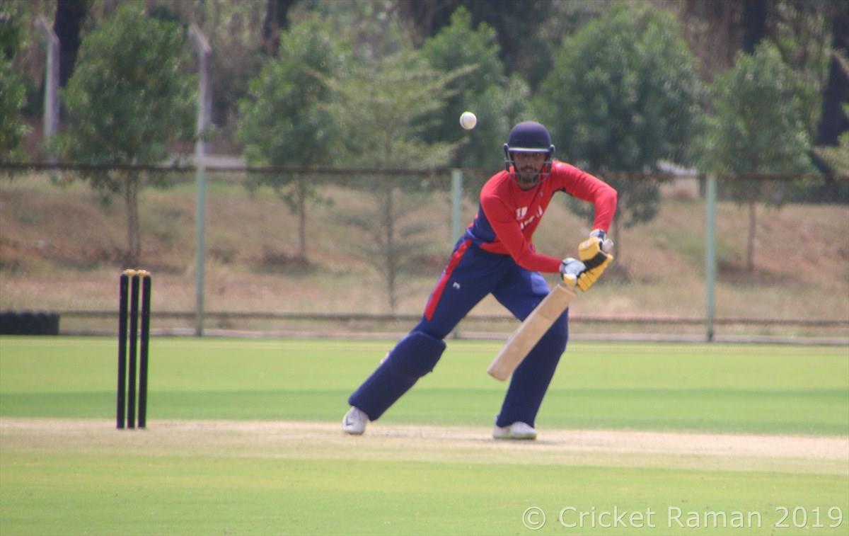 यू १९ क्रिकेट दोस्रो अभ्यास खेलमा नेपाली टोली पराजित