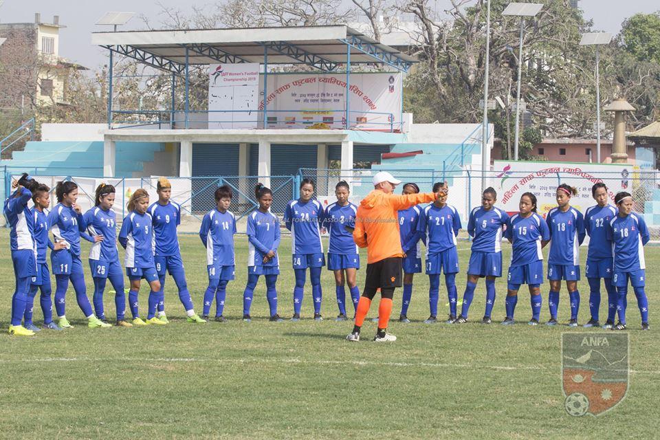 साफ महिला च्याम्पियनसिपः फाइनल प्रवेशका लागि नेपाल श्रीलंकासँग भिड्दै