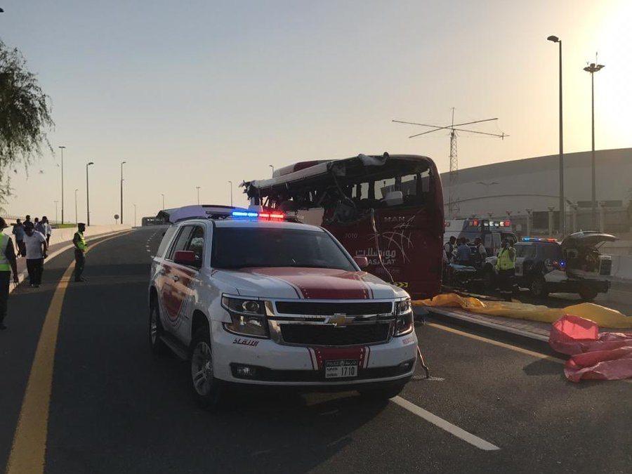 दुबईमा पर्यटक सवार बस दुर्घटना, १७ जनाको मृत्यु