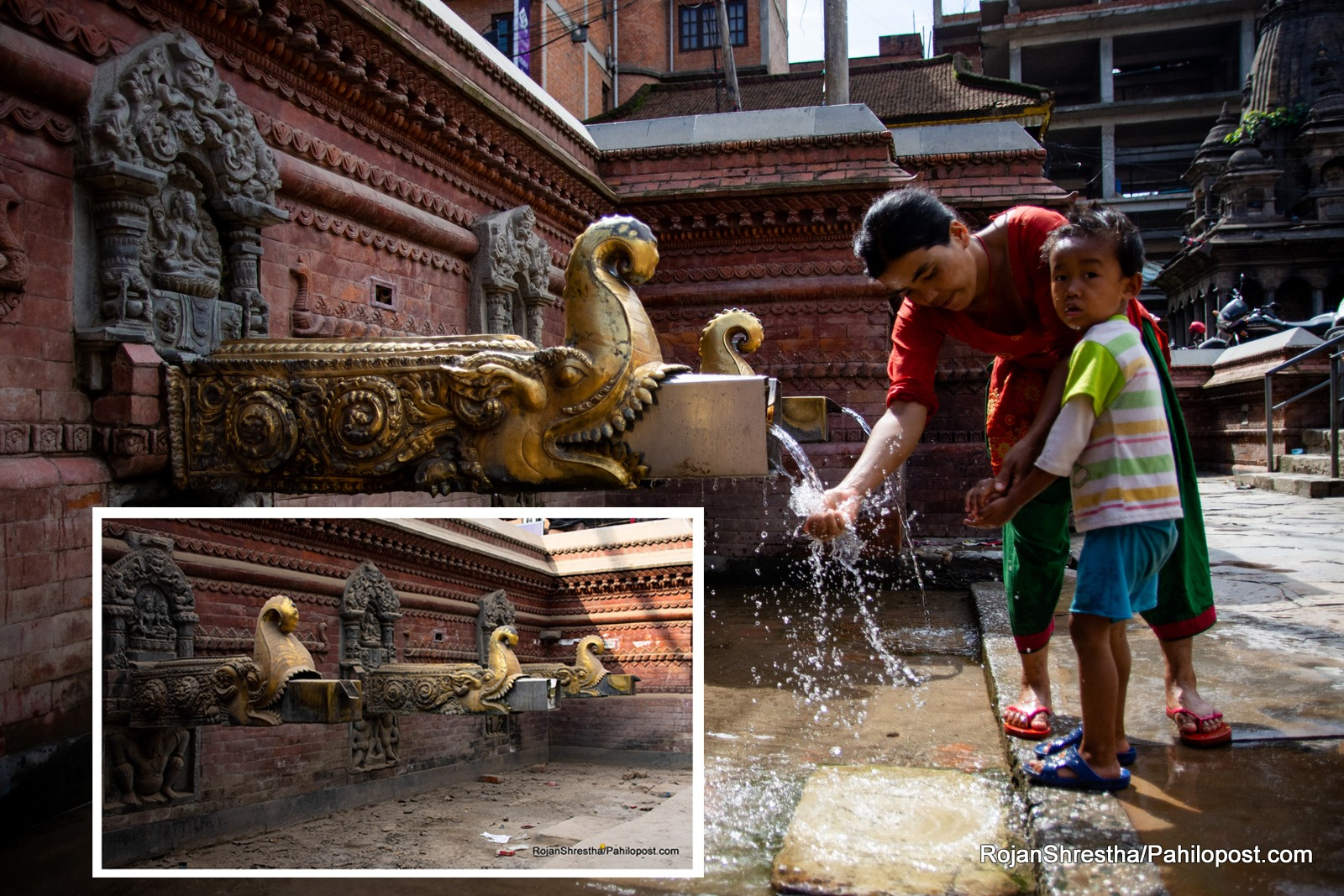 आफैँ प्यासी ढुंगेधारामा कलकल पानी : हेर्नुस् मनसुनसँगै यसरी ब्युतिए हिटी