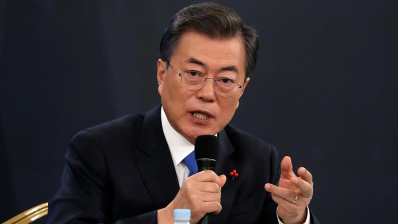 उत्तर कोरियाले निःशस्त्रीकरणमा प्रभावशाली कदम चाल्नुपर्छ: दक्षिण कोरियाली राष्ट्रपति