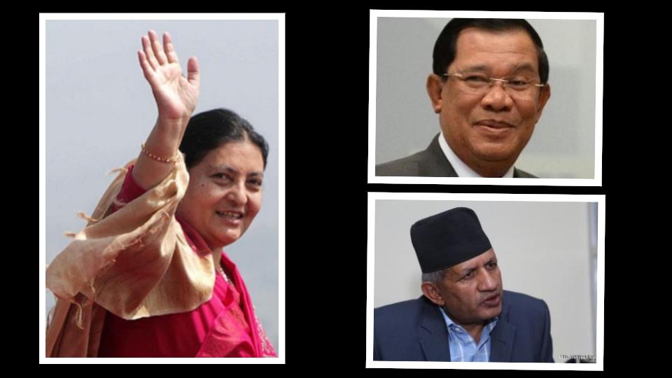 राष्ट्रपति भण्डारीको मंसिरमा पोल्याण्ड यात्रा, नेपाल आउँदै कम्बोडियाका प्रधानमन्त्री