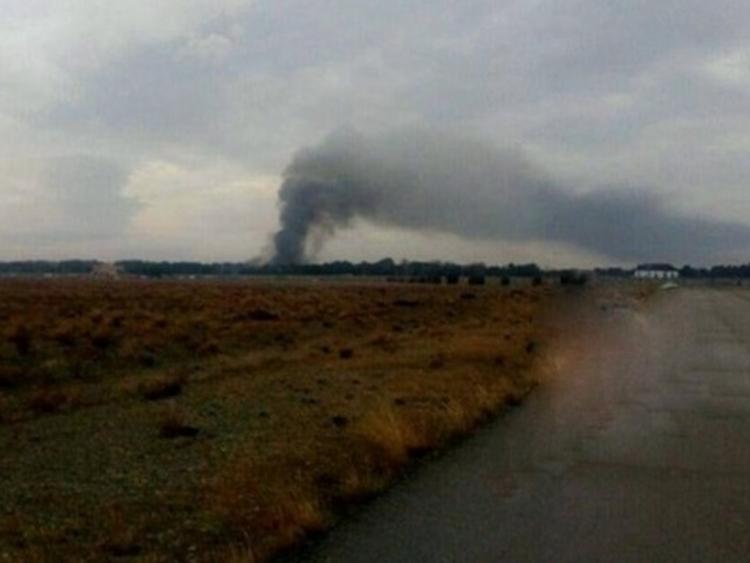 इरानमा ९ जना सवार कार्गो विमान दुर्घटना