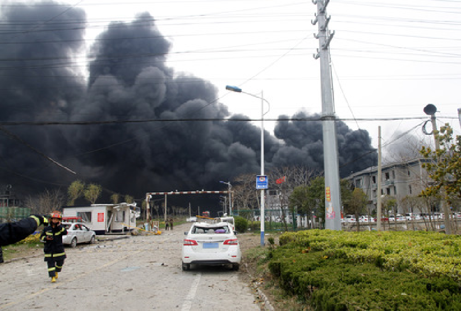 चीनको औद्योगिक क्षेत्रमा विस्फोट, ६ जनाको मृत्यु