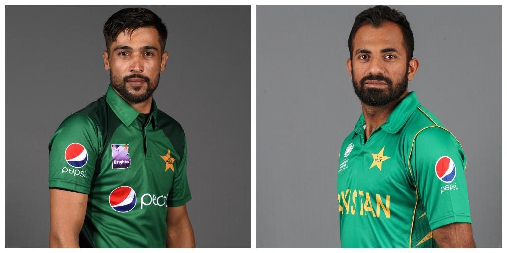 विश्वकप क्रिकेट : पाकिस्तानी टोलीमा रियाज र आमिरको पुनरागमन