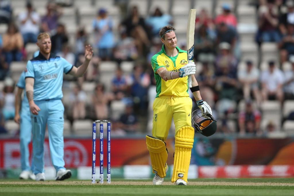 स्मिथको शतकमा अष्ट्रेलियाले विश्वकप आयोजक इंग्ल्याण्डलाई हरायो, भारत न्यूजिल्याण्डसँग पराजित