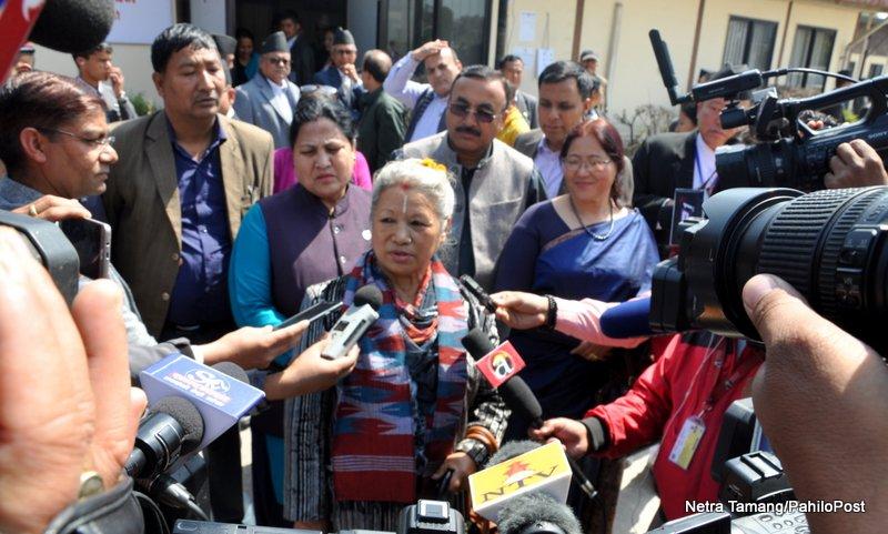 राष्ट्रपतिमा विद्याको उम्मेदवारी खारेज हुनुपर्छ, नभए सर्वोच्च जान्छौँ : कुमारी लक्ष्मी राई