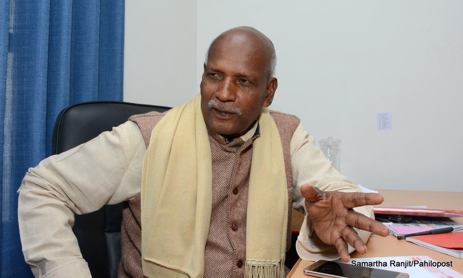 केपी ओली मधेशी नेता देख्नासाथ भाग्नुहुन्छ : महेन्द्र यादव