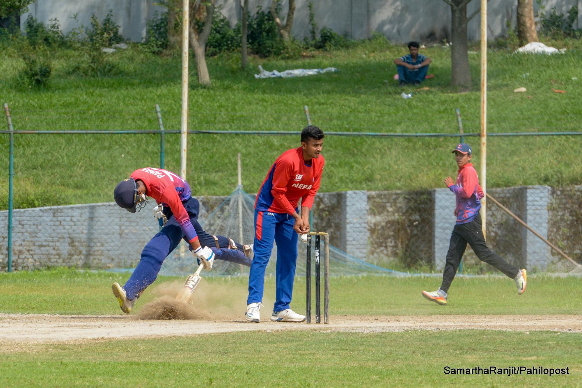 एसीसी यू-१९ इस्टर्न रिजन क्रिकेटको लागि नेपाल तयारी, हेर्नुस फोटोमा