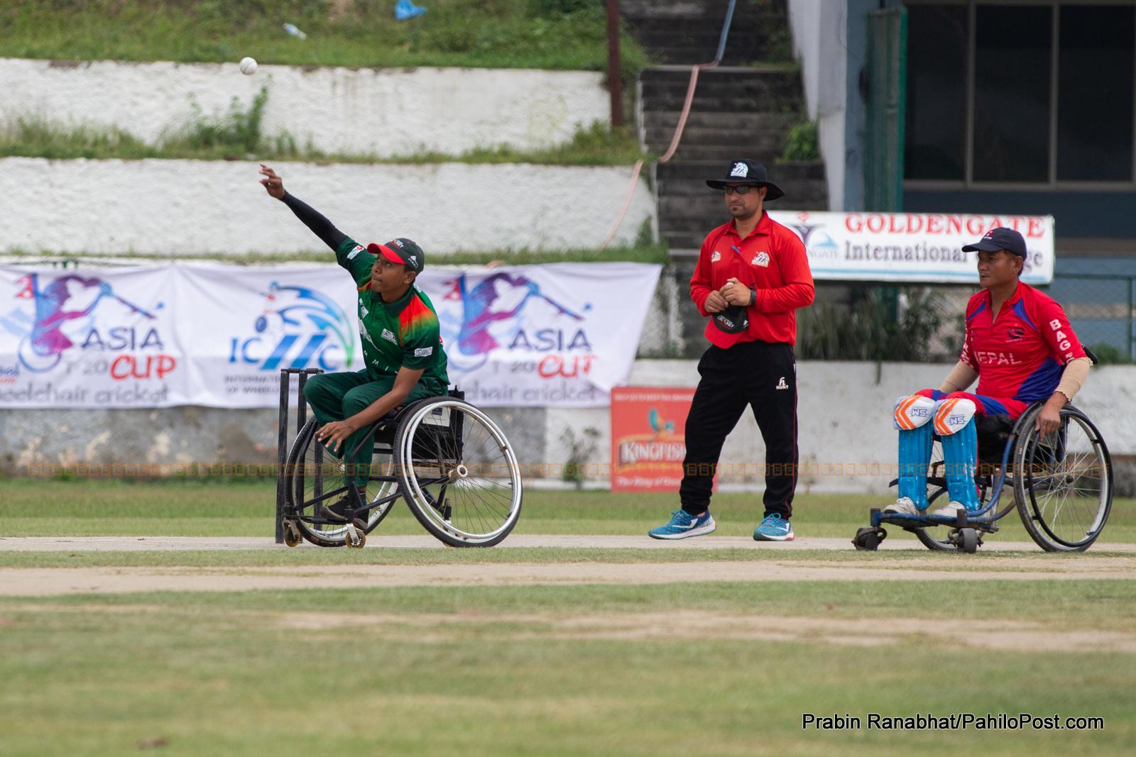 ह्विलचियर एसिया कप क्रिकेट : नेपालको दोस्रो हार, भारतको लगातार दोस्रो जित