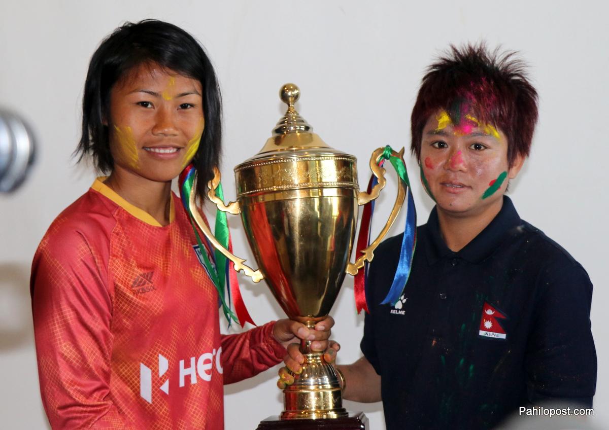 साफ महिला च्याम्पियनसिप :  पाँच वर्षपछि फाइनलमा भिड्दै नेपाल र भारत, उपाधि जित्ने दुवै टोलीको दाबी