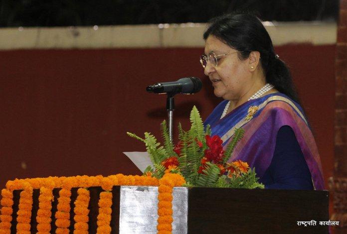 नेपाल संवतका अवसरमा राष्ट्रपतिको शुभकामना, 'मौलिक संवतले सामाजिक एकता र भाइचारा अभिवृद्धि गरोस्'