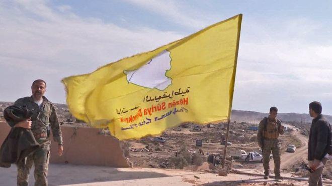 इस्लामिक स्टेटले सिरियामा सबै भूमि गुमाएको सिरियन डेमोक्रेटिक फोर्सको दाबी