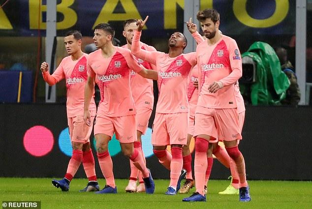 च्याम्पियन्स लिग : बार्सिलोना दुई खेल अगावै अन्तिम १६ मा, डर्टमण्ड र लिभरपुल पराजित