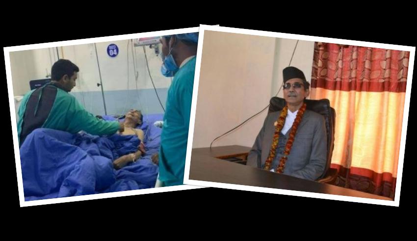 सुदूरपश्चिमका प्रदेश प्रमुख मल्लको स्वास्थ्यमा समस्या, नाइटभिजन हेलिकप्टरबाट काठमाडौँ ल्याइयो