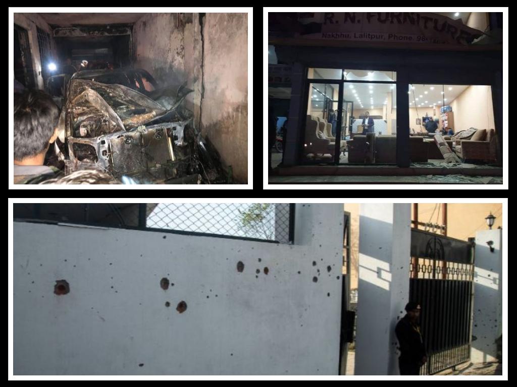 काभ्रे गोली काण्डः एनसेल टावर र व्यवसायी गुरुङको घरमा विस्फोट गराएको आरोपमा विप्लवका चार कार्यकर्ता पक्राउ