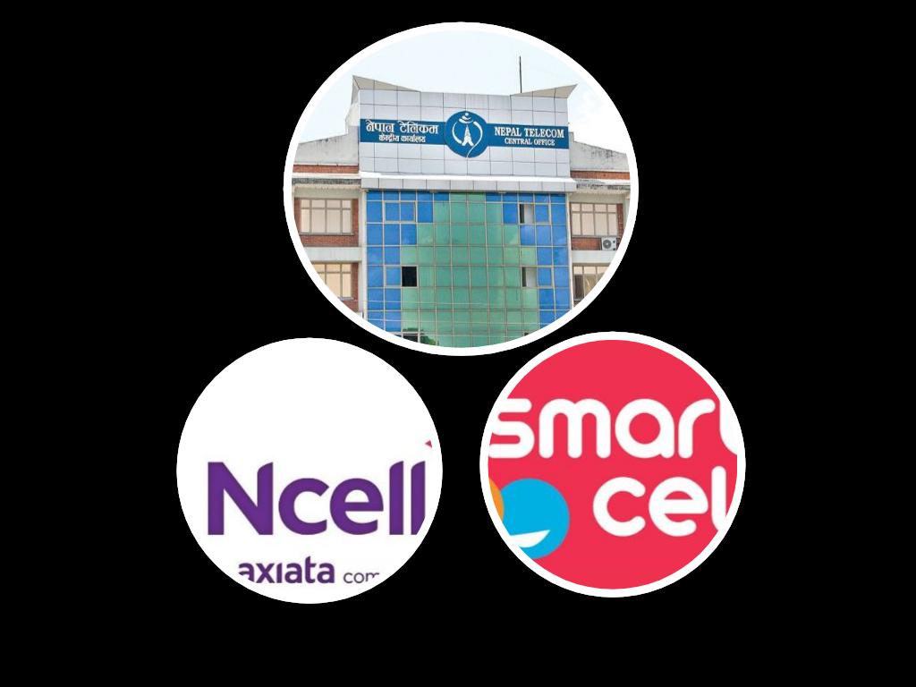 मोबाइल सेवामा नेपाल टेलिकमले उछिन्यो एनसेललार्इ, स्मार्टसेल पुछारमा