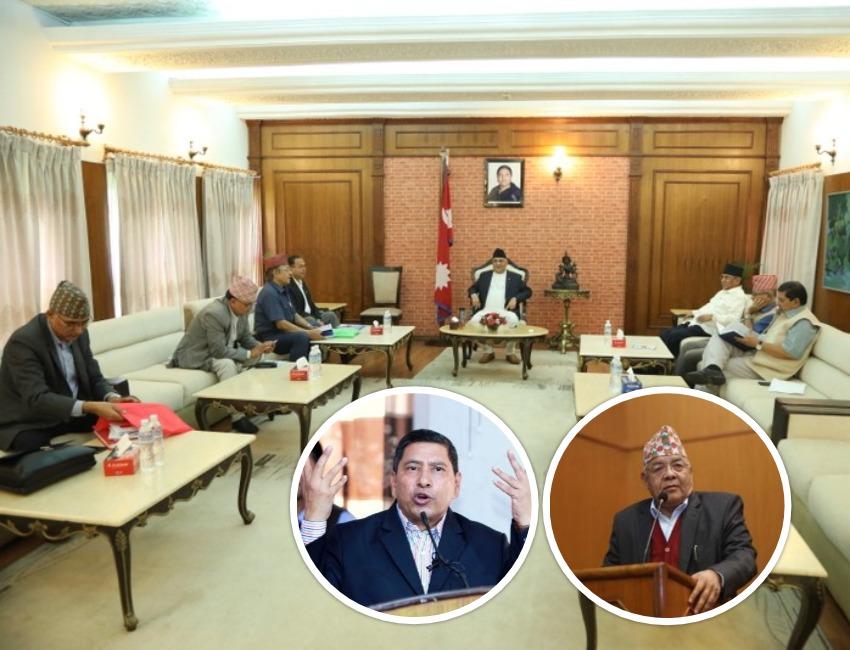 संगठन विभाग मेरै हो- वामदेव, उहाँलाई त्यस्तै लाग्या होला निर्णय भएको छैन- प्रवक्ता