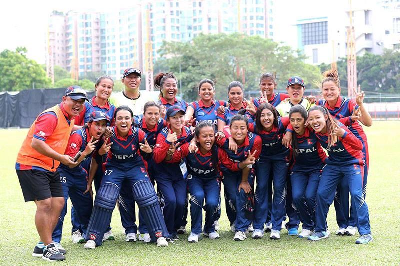 नेपालको महिला क्रिकेट टिमले थाइल्याण्डमा टी-२० क्रिकेट प्रतियोगिता खेल्ने