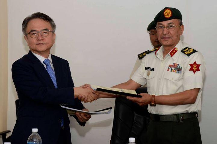 १० करोडमा फास्ट ट्रयाकको डिपिआर बनाउने जिम्मा सेनाले दियो कोरियाली कम्पनीलाई
