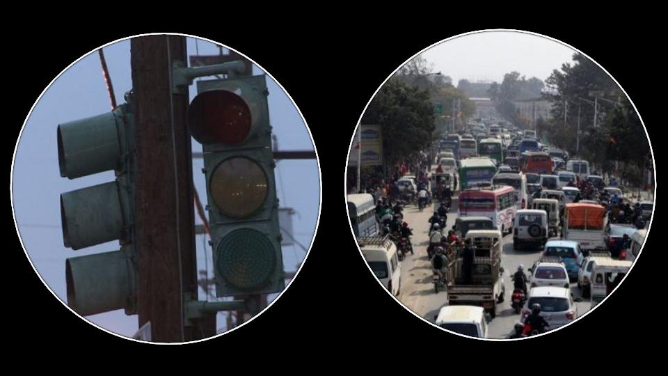 ट्राफिक लाइट बनाउन पैसा छैन, सडकमा गुडाउन १८ करोडको गाडी!