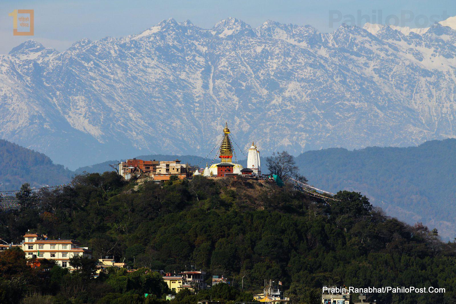 जब आकाश खुल्यो : सधैँ नदेखिने काठमाडौँका सुन्दर १६ फोटो