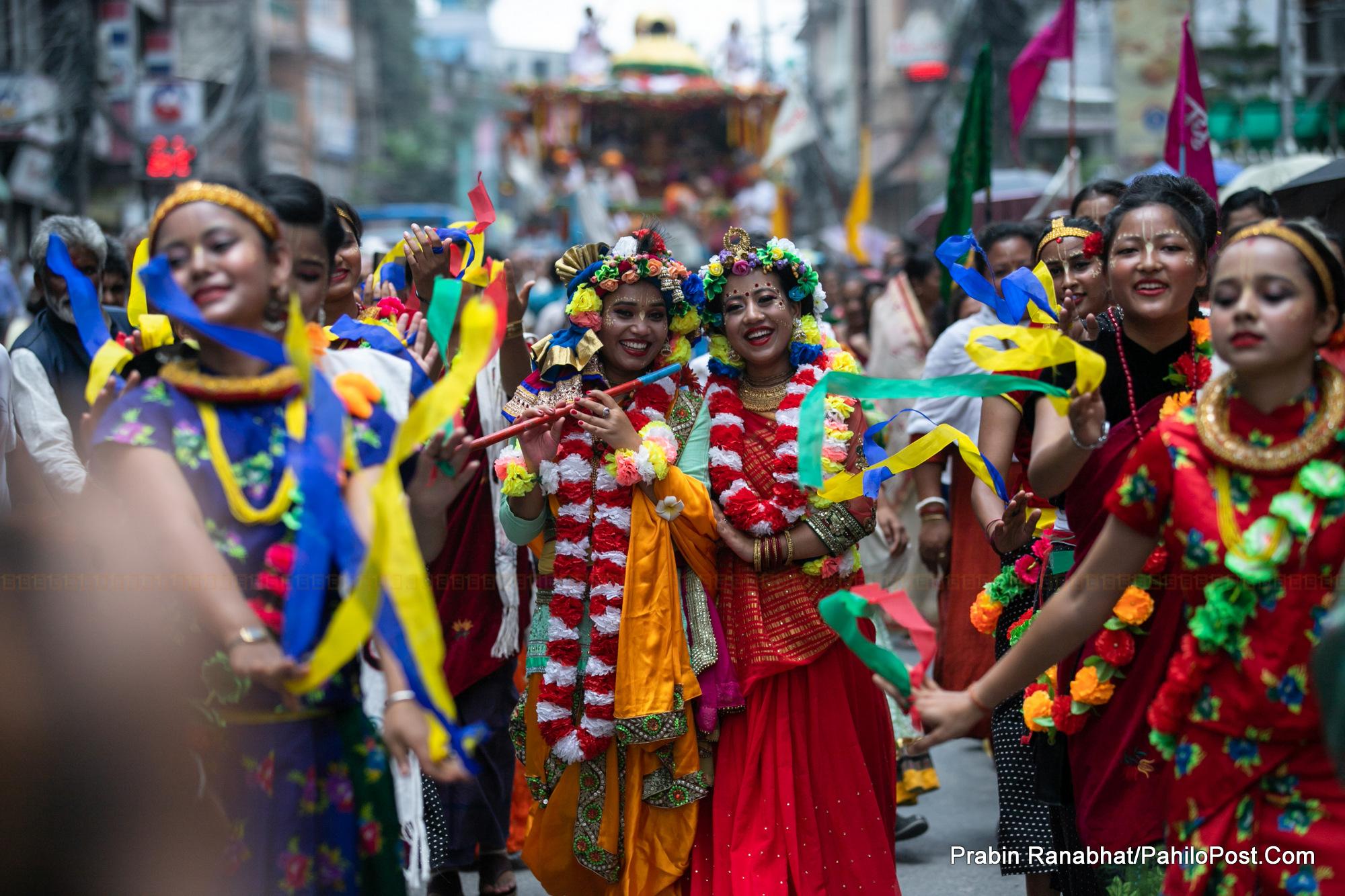हेर्नुस् राजधानीमा जगन्नाथको रथयात्रा, भारत र विश्वका अन्य मुलुकमा पनि मनाइयो