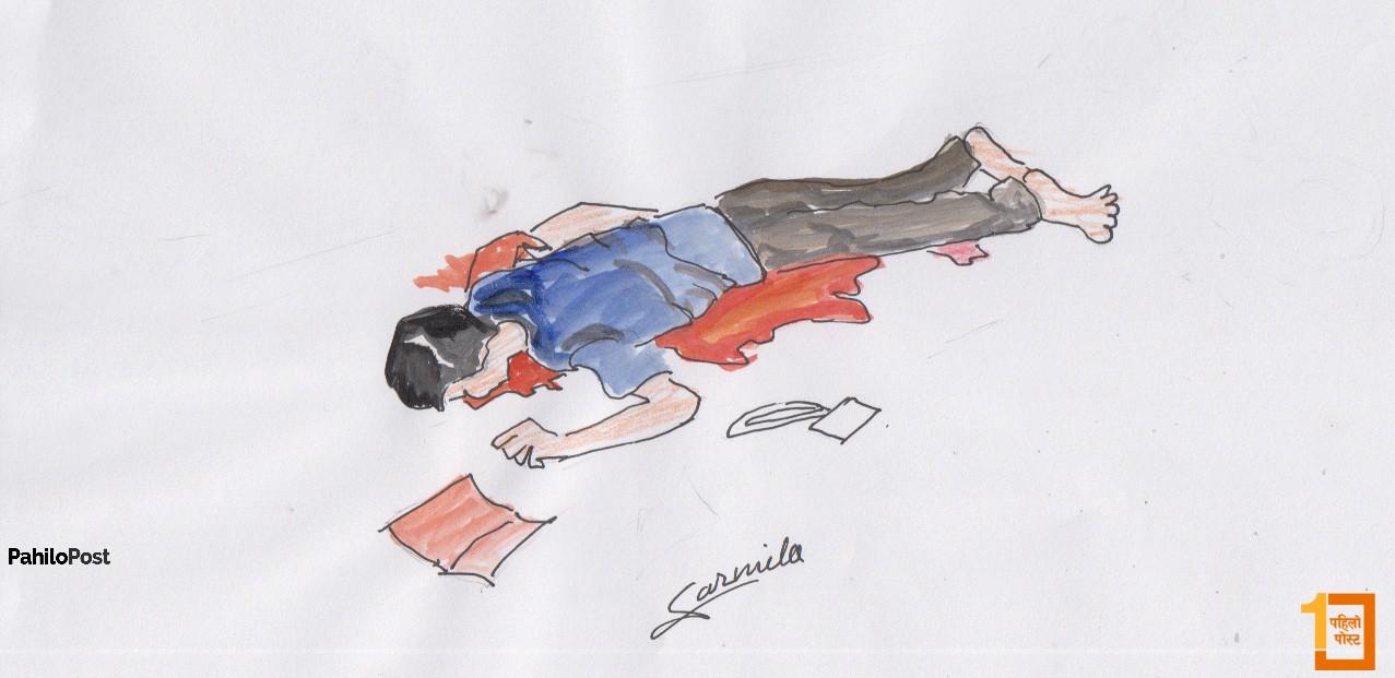 जिपको ठक्करबार कैलालीमा पैदल यात्रीको मृत्यु