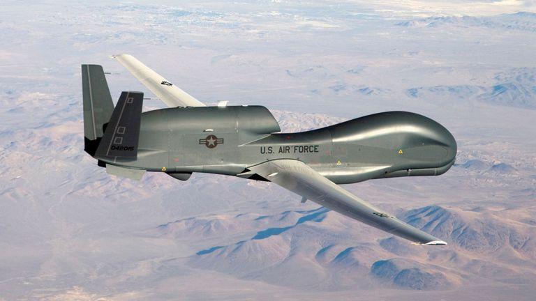 इरानी रिभोलुसनरी गार्डले खसाल्यो अमेरिकी ड्रोन!